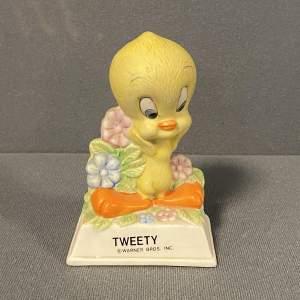 Vintage Warner Brothers Bisque Tweety Figure