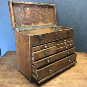 Stunning Vintage Machinists Engineers Chest of Drawers by Neslein