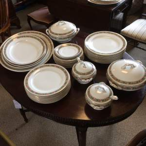 Edwardian Wedgwood Dinnerware Tureens and Plates circa 1906