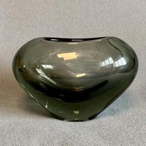 1960s Holmegaard Heart Glass Vase