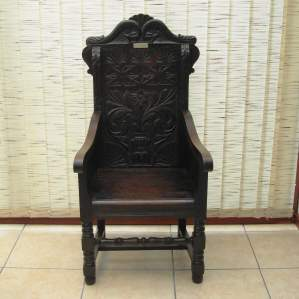 A 20th Century Welsh Bardic Chair