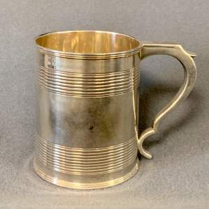 Early 19th Century Silver Tankard