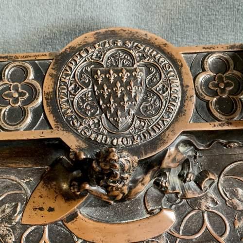 Quality 19th Century Bronze Desk Stand image-5