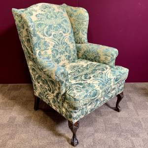 Late 19th Century Wing Armchair