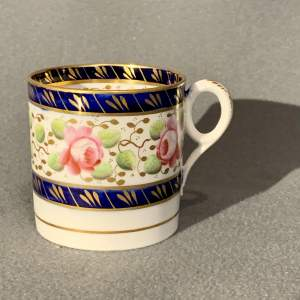 19th Century New Hall Coffee Can