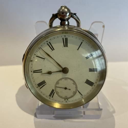 Silver Pocket Watch 1895 image-1