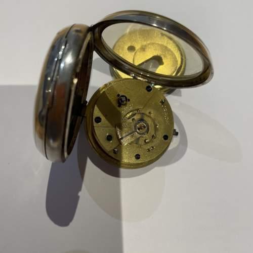 Silver Pocket Watch 1895 image-4