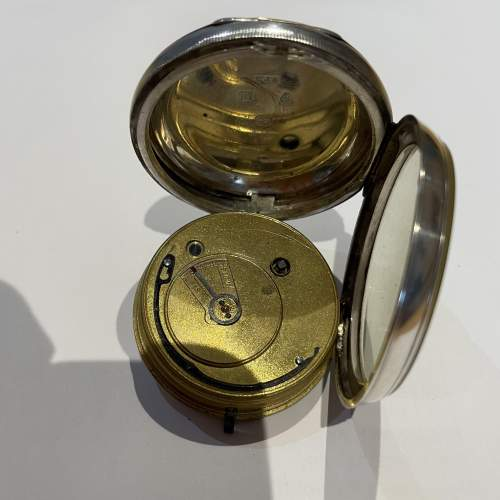 Silver Pocket Watch 1895 image-5