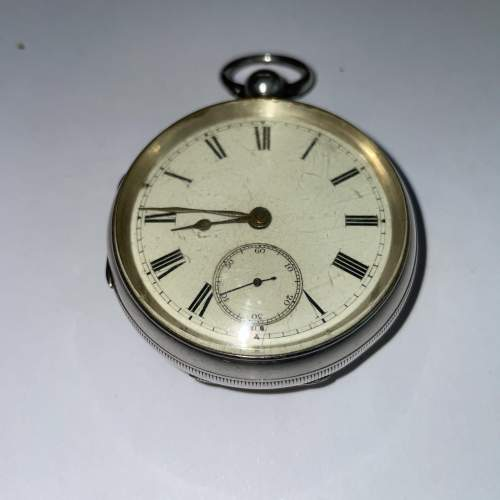 Silver Pocket Watch 1895 image-6