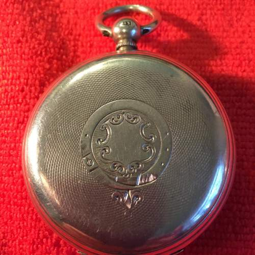 Silver Pocket Watch Stamped London 1884 With Fusee Movement image-6