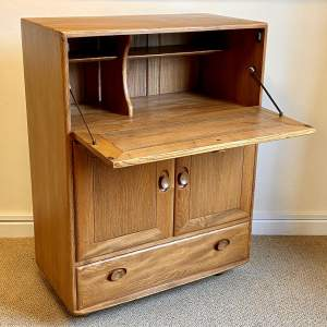 Ercol Fall Front Cabinet Unit