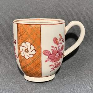 Late 18th Century Worcester Coffee Cup