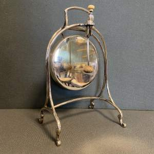 Victorian Silver Plated Dinner Gong