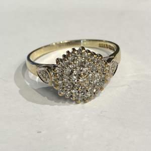 Vintage Gold Diamond Ring