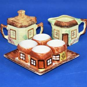 1930s-40s Cottage Ware Collection -  Breakfast Set