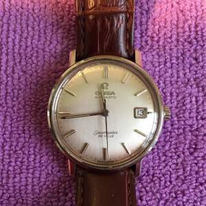 Omega Seamaster Automatic De Ville Watch with Date Stainless Steel