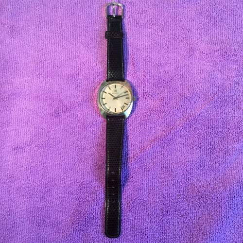 Zenith Gold Plated Manual Wind Watch with Date Circa 1970s image-4