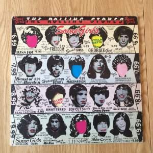 Rolling Stones Some Girls vinyl LP 1978 issue die-cut sleeve