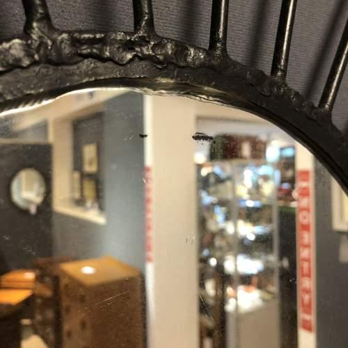 Pair of Vintage Starburst Wall Mirrors image-6