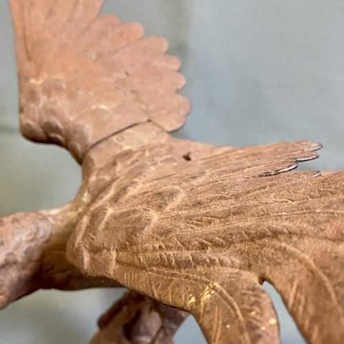Late Victorian Cast Metal Eagle Figure image-5