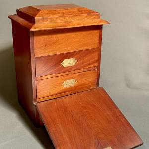 Unusual Victorian Mahogany Table Cabinet