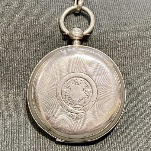 19th Century Silver Gentlemans Pocket Watch image-5