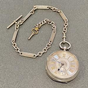 19th Century Silver Gentlemans Pocket Watch