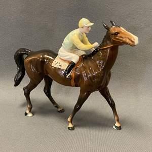 Beswick Horse and Jockey