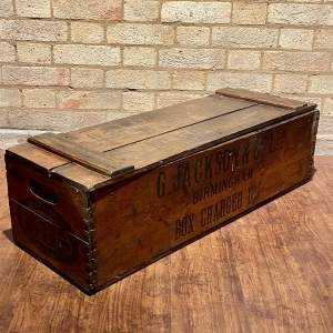 Vintage Fyffes Banana Box