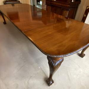 Edwardian Mahogany Extending Wind-out Dining Table