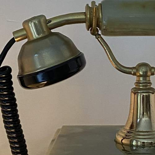 Vintage Kitsch Onyx Telephone image-5