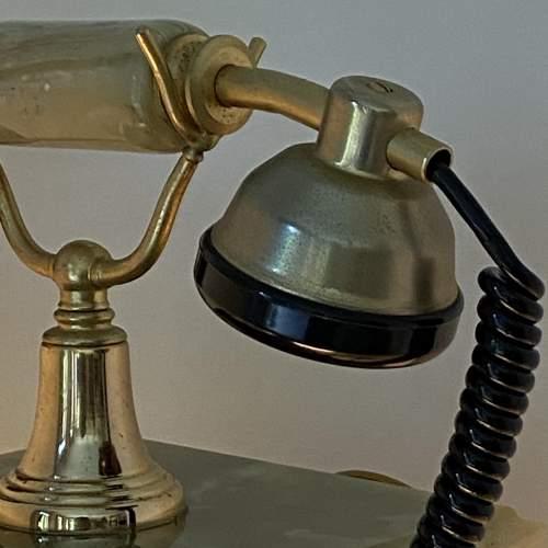 Vintage Kitsch Onyx Telephone image-6