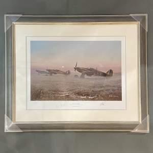 We Never Slept Hawker Hurricane Print by Robin Smith G.Av.A.