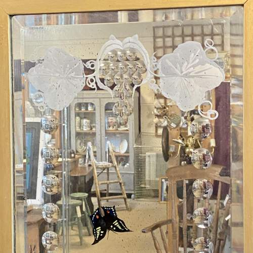 Pair of Ornate Framed Painted Mirrors image-3