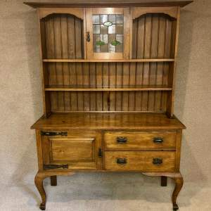 Oak Dresser By Maple and Co In The Arts and Crafts Style