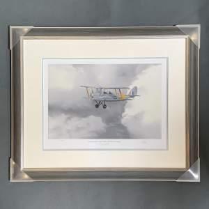 De Havilland Tiger Moth Print by Robin Smith G.Av.A.