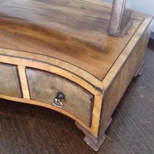 Mahogany and Boxwood Strung Dressing Table Swing Mirror image-2