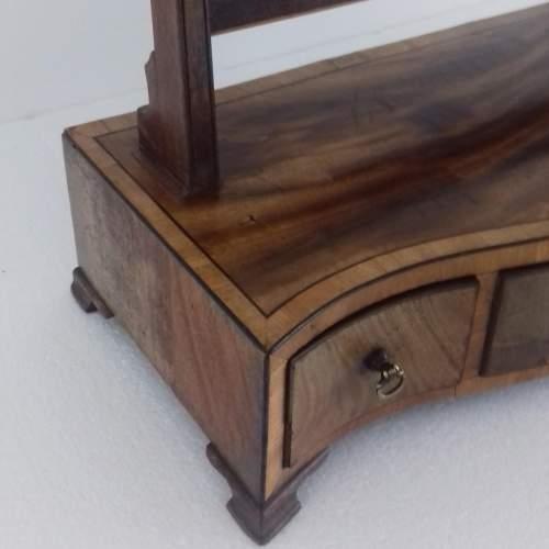 Mahogany and Boxwood Strung Dressing Table Swing Mirror image-6