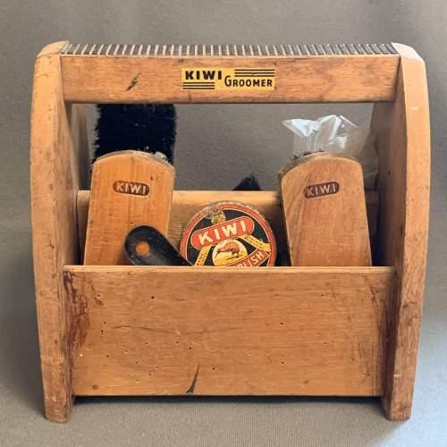 Vintage Kiwi Shoe Shine Box image-2