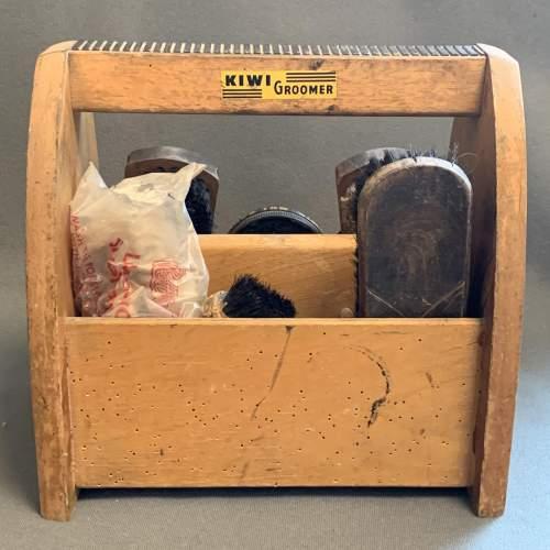 Vintage Kiwi Shoe Shine Box image-3