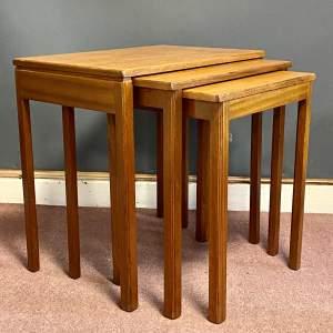 20th Century Teak Nest of Tables by McIntosh