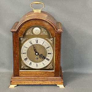 Mahogany Bracket Timepiece with Brass Arch Dial