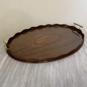 Victorian Mahogany Butlers Tray