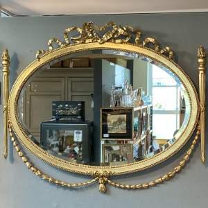 Ornate Antique Gilt Framed Mirror