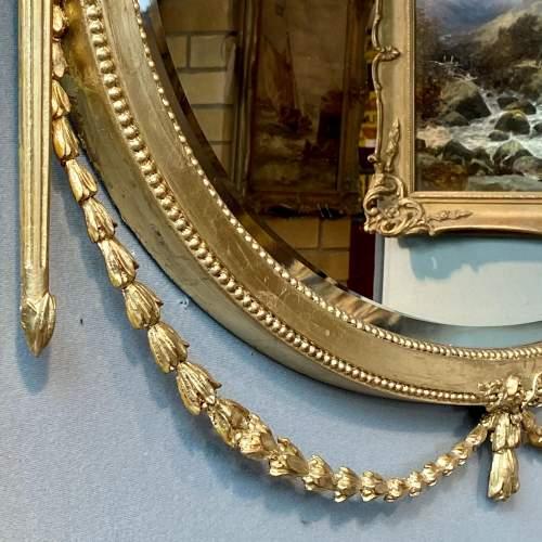 Ornate Antique Gilt Framed Mirror image-2