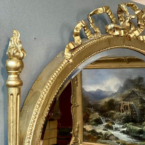 Ornate Antique Gilt Framed Mirror image-3