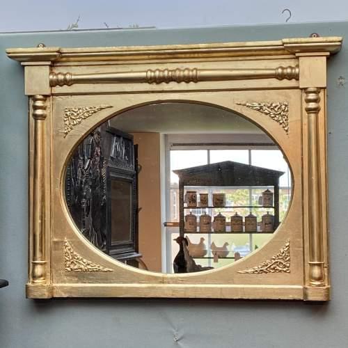 Antique Gilt Framed Mirror image-1