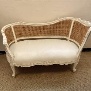 19th Century French Kidney Shaped Chaise Longue