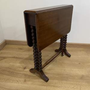 Mahogany Folding Sutherland Table - Occasional Table - Victorian