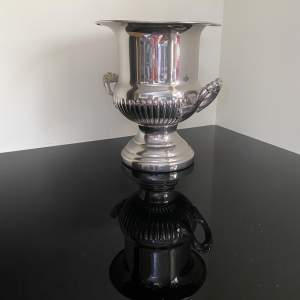 Large Campana Silver Plated Wine or Champagne Cooler - Ice Bucket
